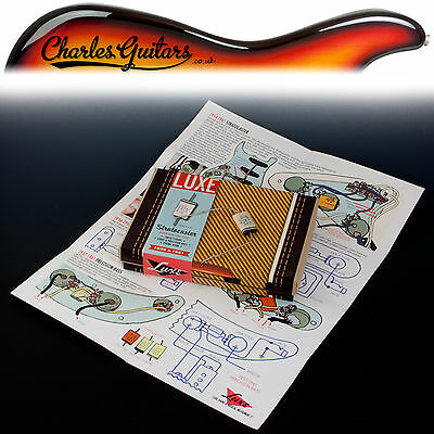 Luxe 1958-1961 Strat Phone Book  Paper & Foil Capacitor Kit (Lx11020)
