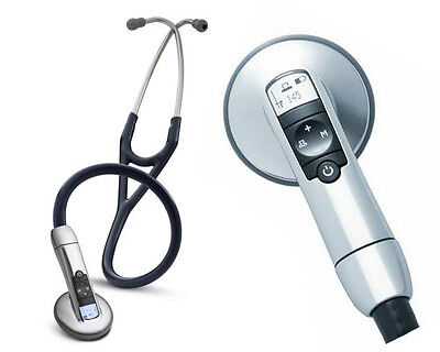 3M Littmann 3100 Electronic Stethoscope in Black New- FREE EXPEDITED SHIPPING