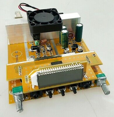 1.5W/15W Adjustable PLL stereo Fm transmitter broadcast only PCB 87-108MHz