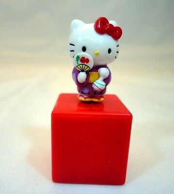 Sanrio Hello Kitty Purple Kimono Cell Phone Dust Earphone Jack Plug 3.5mm