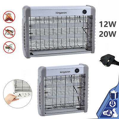 Kingavon 36W 20W 12W 2 Ultra Violet Tube Electrical Insect Bug Fly Killer Zapper
