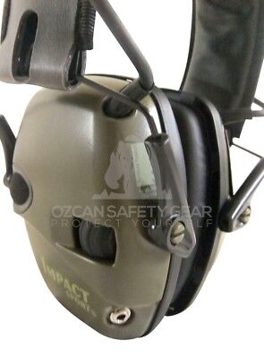 2 Prs Howard Leight Impact Sport Shoot Electronic Earmuffs Protection Tool Work