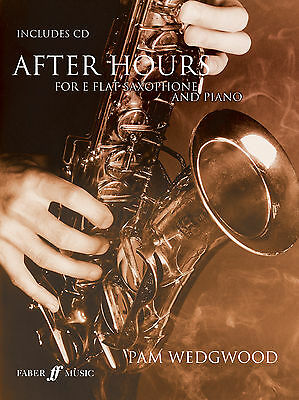 After Hours for Alto Saxophone SAX JAZZ Solo Piano FABER Music BOOK & CD LESSON