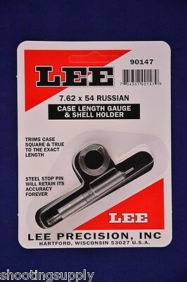 Lee Case Length Gauge & Shell Holder 7.62x54 Russian #90147