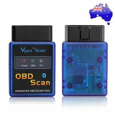 2017 Vgate V1.5 ELM327 OBD2 OBDII Bluetooth CAN Scanner for TORQUE Android phone