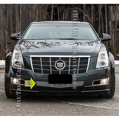 FITS 2008-2013 CADILLAC CTS Bumper Stainless Steel Billet