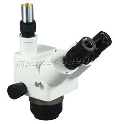 OMAX 5X-80X Trinocular ZOOM Stereo Microscope Body Only for Inspection