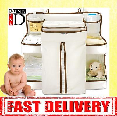 Munchkin Baby Nappy Diaper Change Organiser Bag Stacker Storage Dispenser NEW!!