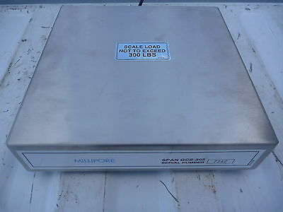 Millipore SPAN GCS-305 Scale Amplifier, 300 lbs max, Gas Cylinder Scale