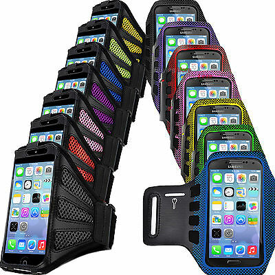Premium Armband Running Sports Case Jogging Cover For Apple iPhone 4 5 5g 6 6s