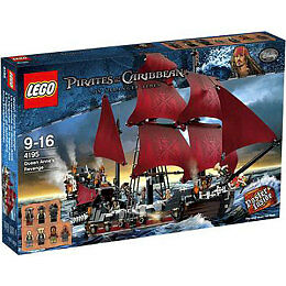 NEW Pirates of the Caribbean Lego Set 4195 Queen Anne's Revenge