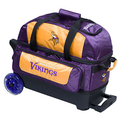 KR Strikeforce NFL New York Giants 2 Ball Roller Bowling Bag