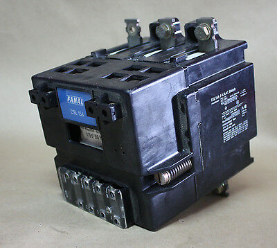 Fanal DSL156 180A Contactor 415V coil