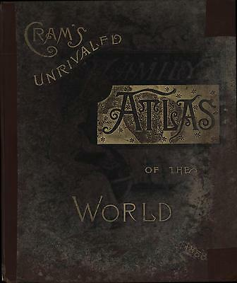 Cram's Unrivaled Atlas of the World Indexed