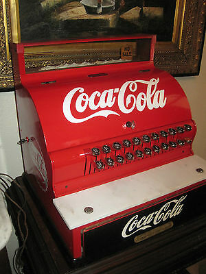 ANTIQUE National Cash Register, 1924-1925, Coca Cola Themed, Restored