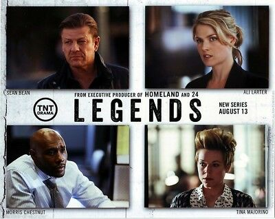 "Legends TNT 8"" by 10"" San Diego Comic Con SDCC 2014 mini poster"