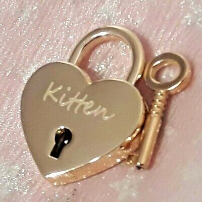Personalised Engraved Polished 30mm Silver Chrome Love Heart Padlock with 2 Keys