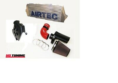 Ford Focus ST225 Airtec Intercooler and Group A Air Filter With Cold Feed Scoop
