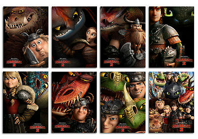 How To Train Your Dragon 2 Animation Movie Postcard