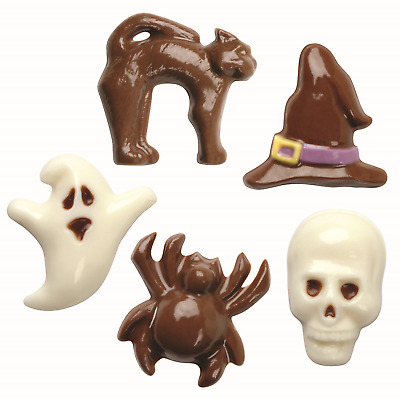PME Halloween Skull Ghost Hat Chocolate Lollipop Lollypop Pops Candy Mould Mold