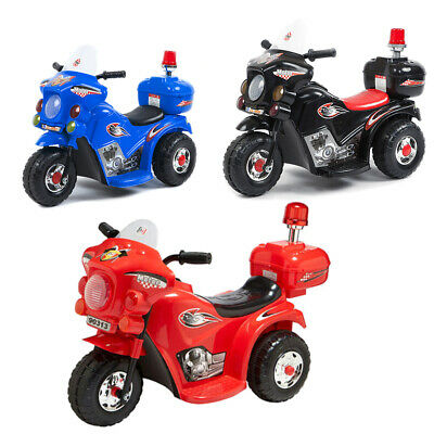 Indoor/Outdoor 3 wheel Electric Ride On Motorcycle Motor Trike Kids/Toddler/bike