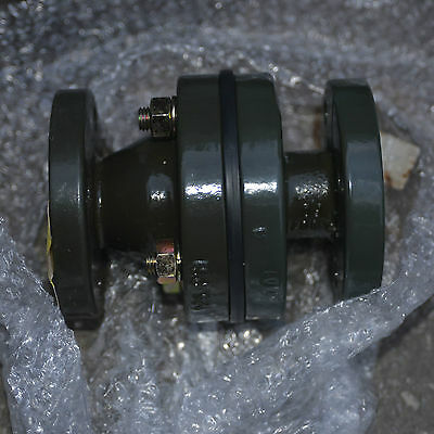 Gemo 1 in 25mm 125 PSI glass lined flanged check valve - 6415