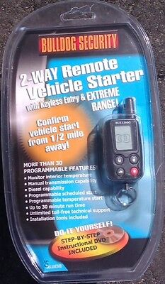 Brand New 2-Way LCD Remote Starter & Keyless Entry W/ Bypass Module $180