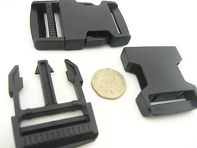 4CM buckle POM Delrin Side Release Plastic Buckles Clips For Webbing replacement