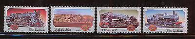 SUDAFRICA/RSA SOUTH AFRICA 1983 MNH SC.614/617 Trains