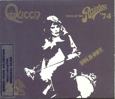 Queen Live At The Rainbow '74 Sealed 2 Cd Set New 2014