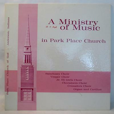PARK PLACE CHURCH A Ministry of Music in... RCA Custom P4RM-6643 RARE Vinyl LP