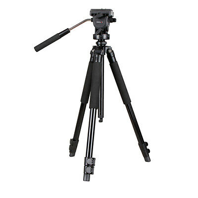 VT-1200 Speedy Shooting Video Tripod w/ Fluid Ball Head + Handle, Quick Release