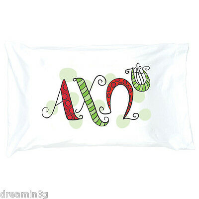 Alpha Chi Omega Pillowcase