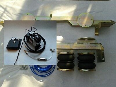 AIR SUSPENSION KIT WITH ONBOARD CONTROL SYSTEM, COMPRESSOR  MOTORHOME RECOVERY