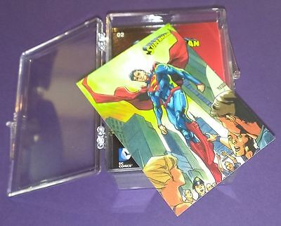 2013 DC Superman the Legend Trading Cards (Cryptozoic) Complete Base Set 1-61 !