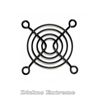 60mm Black wire fan grill / finger guard. For PC computer fan.
