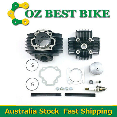 Yamaha PW50 Big Bore Top End Kit 60cc 44mm Piston Cylinder Head Rings Gasket