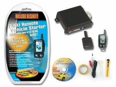 *New Bulldog Deluxe 500 LCD Remote Starter and Keyless Entry