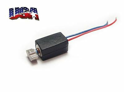 1X DC Micro Pager/Cell Phone Vibration Motor 4mm USA