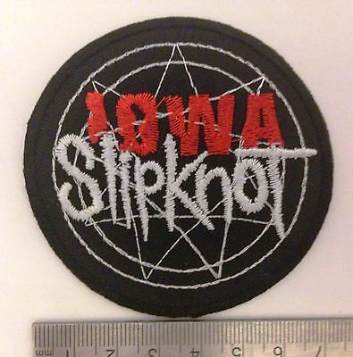 Slipknot heavy metal band music iron on sew on embroidered patches badges