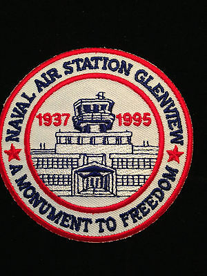 Navel Air Station Glenview IL,  Patch 1937-1995