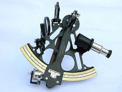 Solid Brass Micrometer Drum Readout Black Finish  Sextant-Antique Reproduction