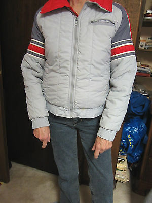 Vintage Roffe Grays Red & White Youth Ski Jacket - Size 14...