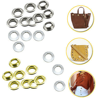 50 or 100 Size 700 Eyelets in 6.5mm in Silver or Gold Eyelets grommets