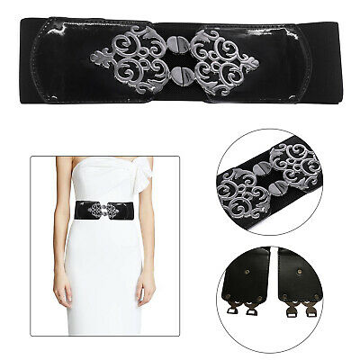 "1cm Stylish Ladies' Girls Women Thin Skinny Shiny Belt in Black -SIZE 39"" - 45"""