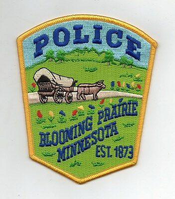 patch BLOOMING PRAIRIE POLICE
