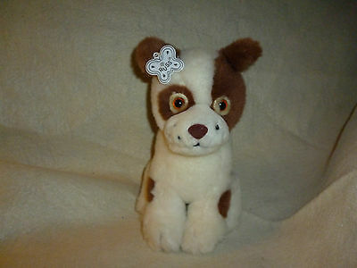 Vintage Russ Puppy Patches Plush Terrier Dog stuffed animal