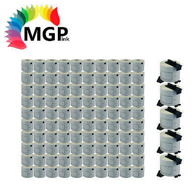 100+5 ROLLS DK11202 DK-11202 BROTHER COMPATIBLE Large shipping Labels 62 X 100mm
