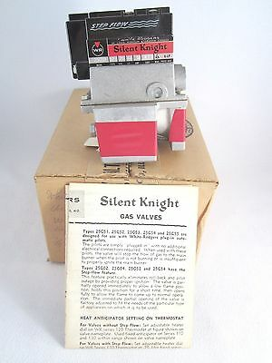 White Rodgers Silent Knight Gas Valve No. 25G52 Type 527- New Old Stock