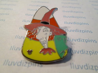 WITCH CANDY CORN HIDDEN MICKEY Haunted Mansion Villain HM  Disney 4 of 5 Pin